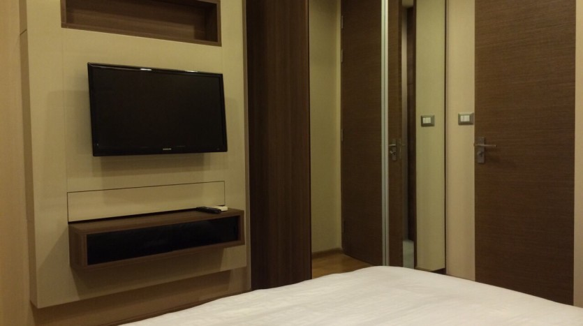 Two bedroom condo for rent in Sathorn - Second bedroom