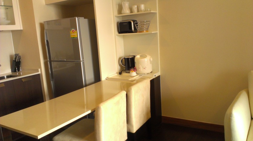 One bed condo for rent in Thong Lo - Dining