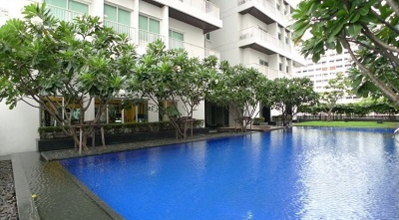 One bedroom condo for rent in Thonglor - Pool