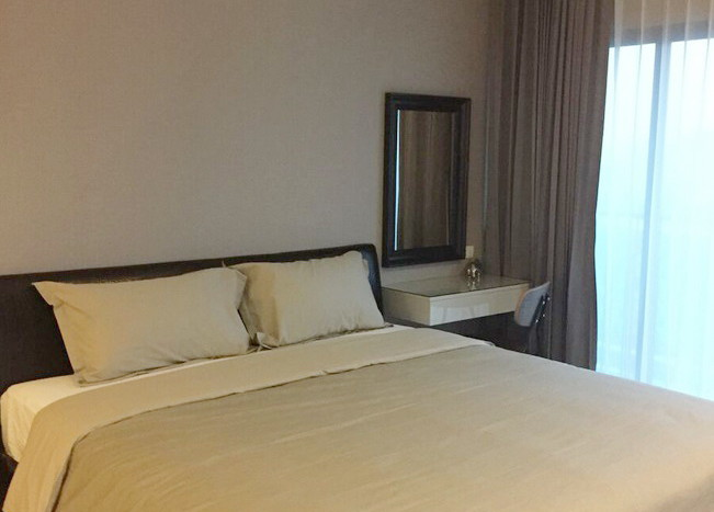 Two bed condo for rent in Ekkamai - Master Bedroom