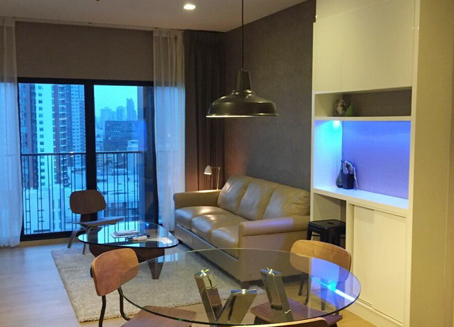 Two bed condo for rent in Ekkamai - Dining