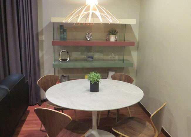 Two bed condo for rent at Thonglor - Dining