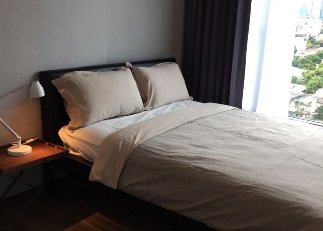 Two bed condo for rent in Ekkamai - Bedroom