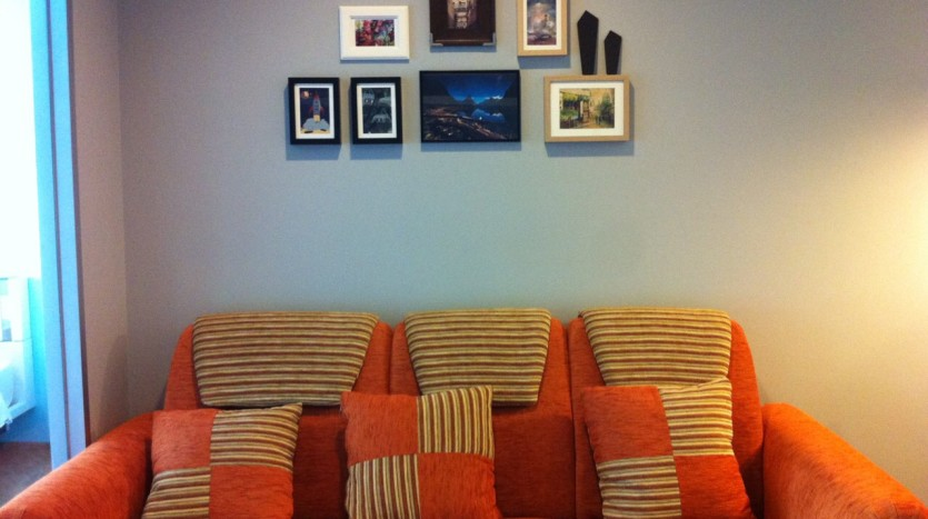 One bedroom condo available for rent in Siam - Sofa two