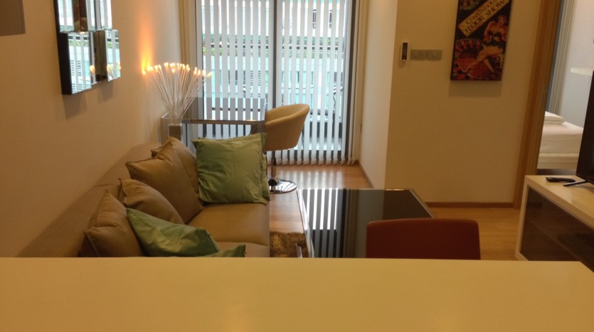 One bedroom condo for rent in Nana - Breakfast bar