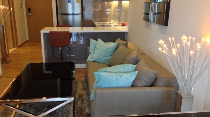 One bedroom condo for rent in Nana - Living area 2