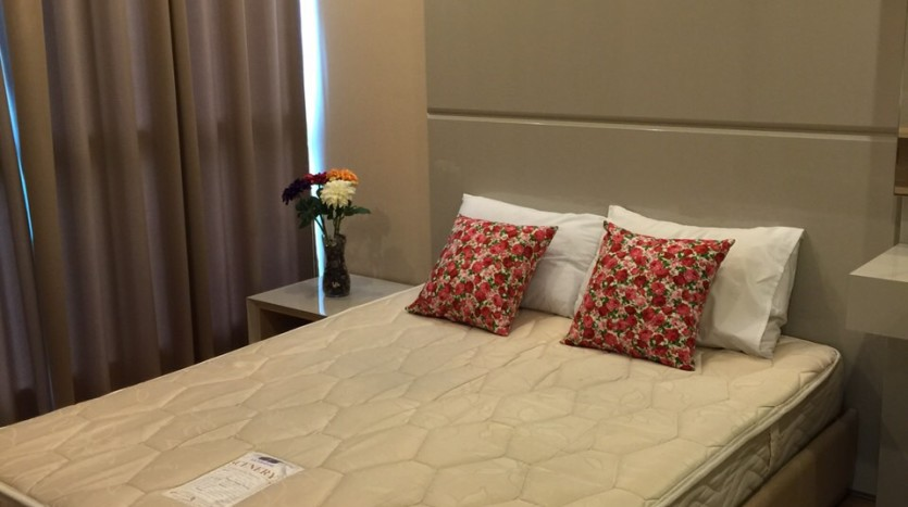One bedroom condo for rent in Asoke - Bedroom