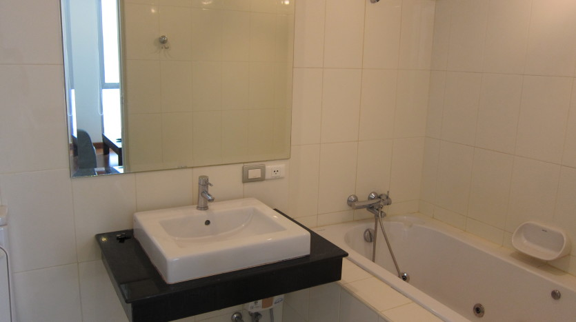 One bedroom condo for rent in Asoke - Bathroom