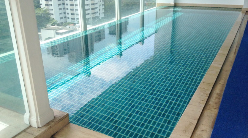 Luxury two bed for rent in Phrom Phong - Private swimming pool