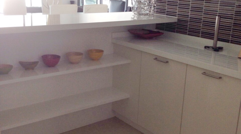 Luxury two bed for rent in Phrom Phong - Kitchen