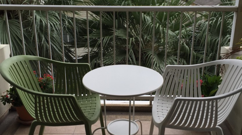 Two bed for rent at Phromphong - Balcony