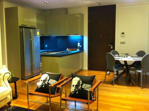 Two bed condo for rent in Thonglor - Kitchen