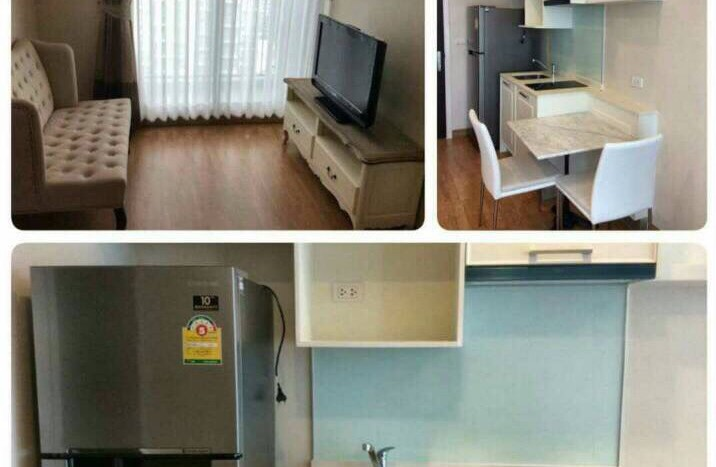 One bedroom condo for rent in On Nut - Kitchen/living room
