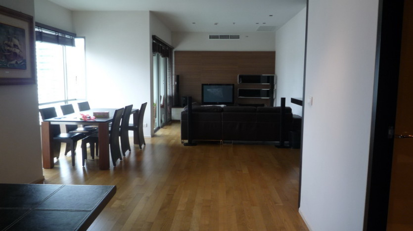 Two bedroom condo for rent in Phrom Phong - Living room two