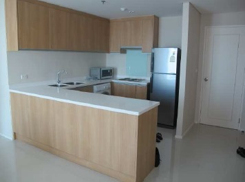 Two bed condo for rent at Asoke - Kitchen