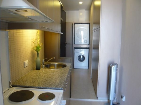 Two bed condo for rent at PhromPhong - Washer & Dryer