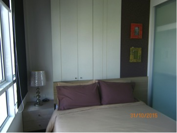 Two bedroom condo for rent in Phrakanong - Bedroom