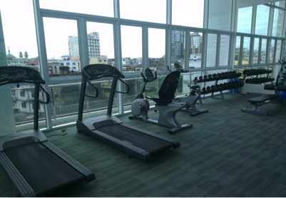 One bedroom unit for rent in Phra Khanong - Gym
