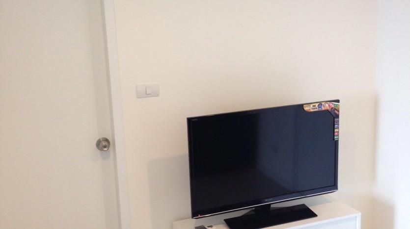 One bedroom condo for rent in Phrakanong - TV