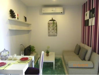 One bedroom unit for rent in Phra Khanong - Living room