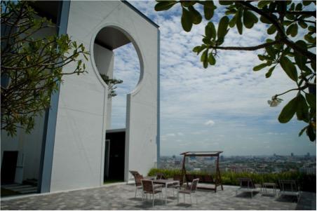 One bedroom unit for rent in Phra Khanong - Roof garden