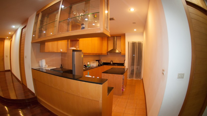 Three bedroom condo for rent in Phrom Phong - Kitchen three