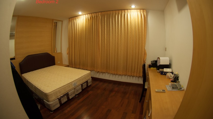 Three bedroom condo for rent in Phrom Phong - Second bedroom two