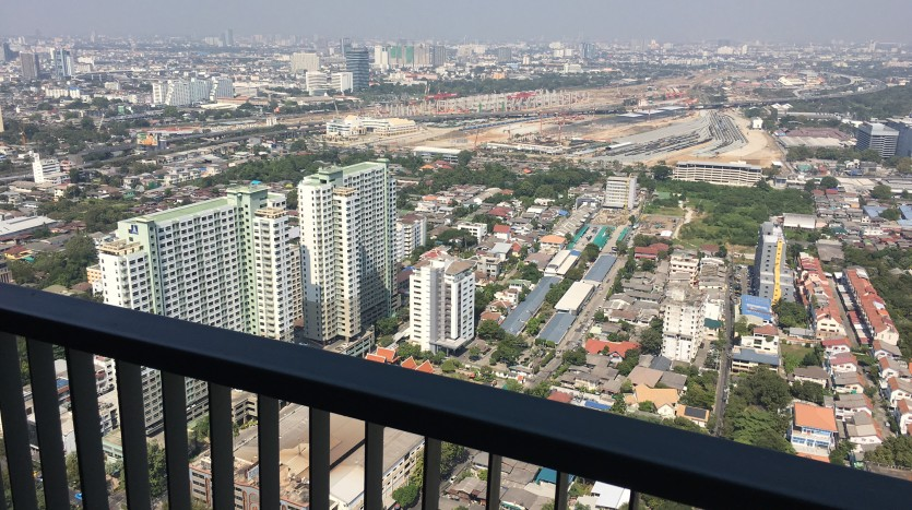 Two bedroom condo for rent in Ari - Living room view