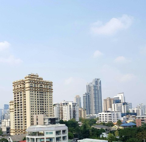 One bedroom condo for rent in Phrom Phong - Day time View