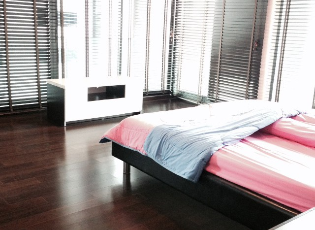 Two bedroom condo for rent in Thong Lo - Master Bedroom