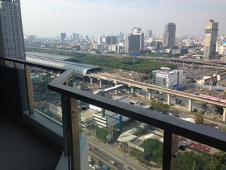 One bedroom condo for rent on Petchaburi Road - View