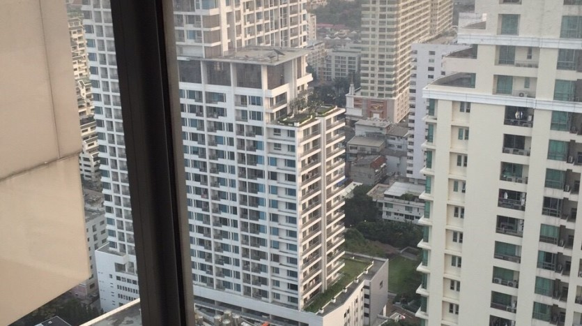 One bedroom duplex condo for rent in PhayaThai - View