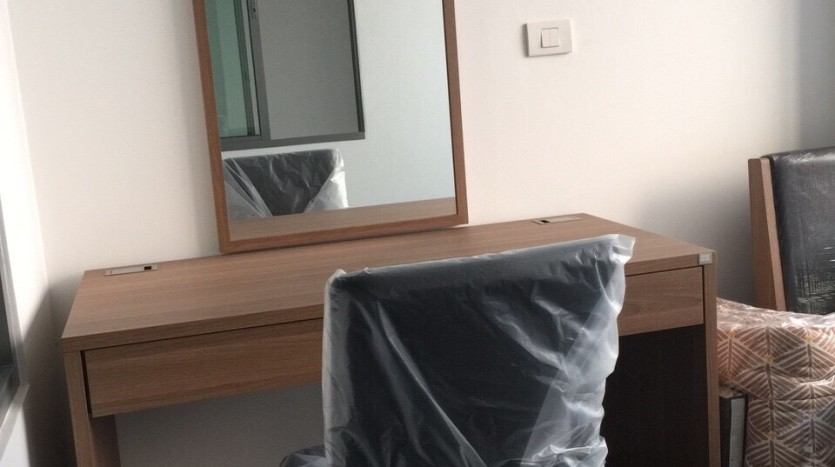 One bedroom duplex condo for rent in PhayaThai - Dressing table