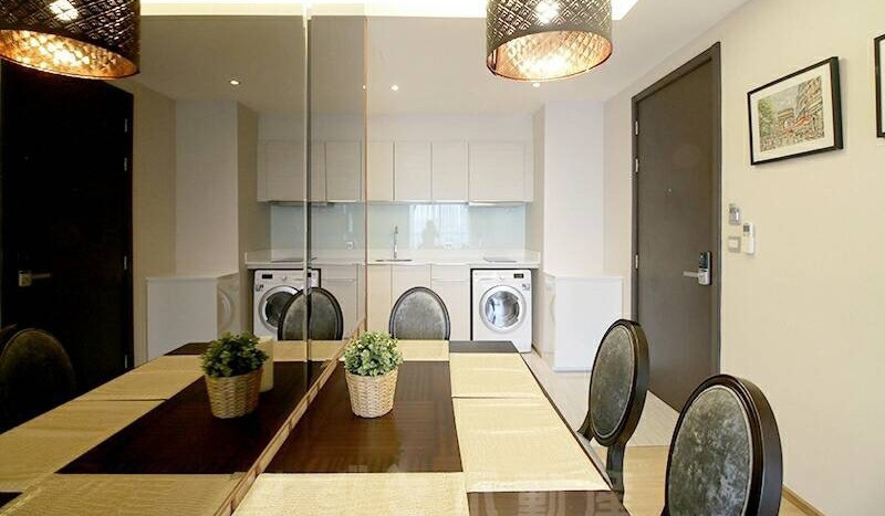 Two bedroom condo for rent Phrom Phong - Dining Room