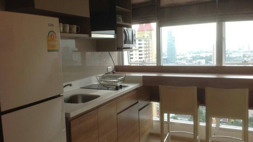 One bedroom condo for rent in Ari - Sky Kitchen