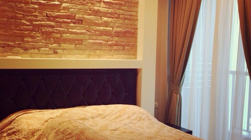Modern One Bed for rent at Phra kanong - Bedroom