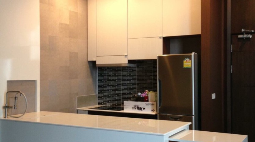 Penthouse 2 bed for rent at PhraKanong - Kitchen