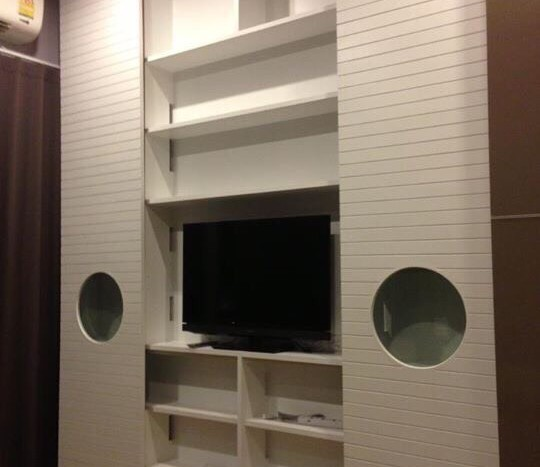 Penthouse 2 bed for rent at PhraKanong - TV in 2nd Bedroom