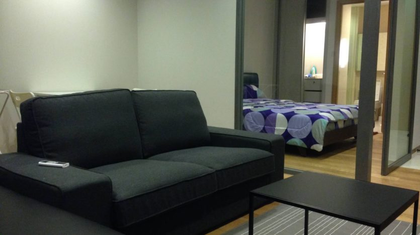 One bedroom condo for rent in Nana - Sofa