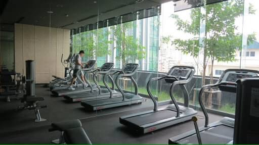 One bedroom condo for rent in Nana - Gym