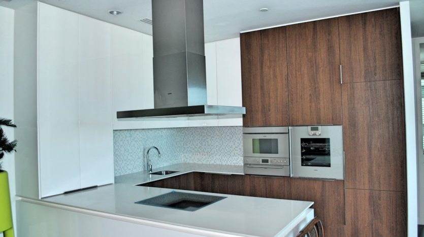 Two bedroom condo for rent in Rajadamri - Kitchen