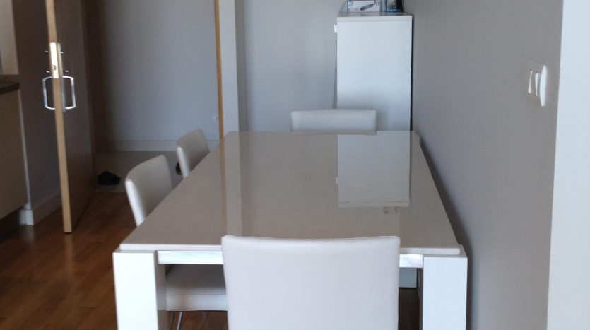 Two bedroom unit for rent in Asoke - Table