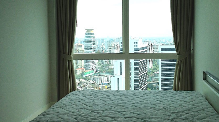 Two bedroom unit for rent in Asoke - Bedroom