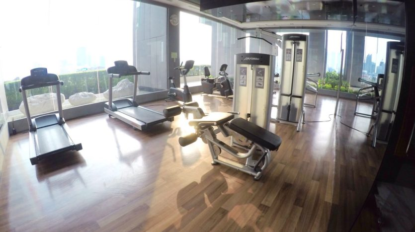 One bedroom condo for rent in Thong Lo - Gym