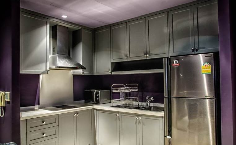 One bedroom duplex for rent in Phrom Phong - Kitchen