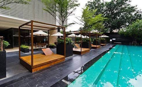 Luxurious three bedroom duplex for rent in Phrom Phong - Swimming pool