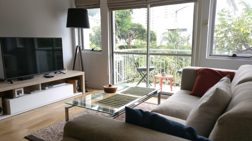 Two bedroom condo for rent in Thong Lo - Sofa