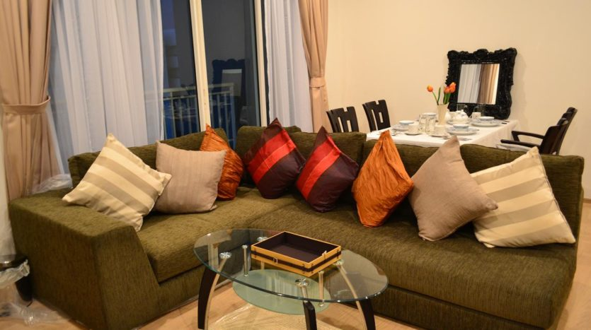 Two bedroom condo for rent in Phrom Phong - Sofa