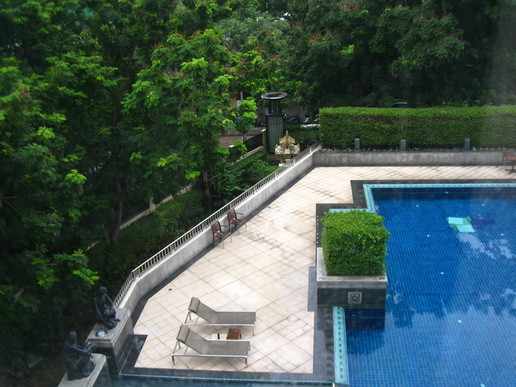 Two bedroom unit for rent in Thong Lo - View from the room