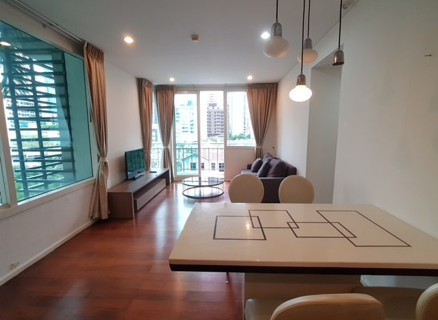 Two bedroom condo for rent in Asoke - Dining table